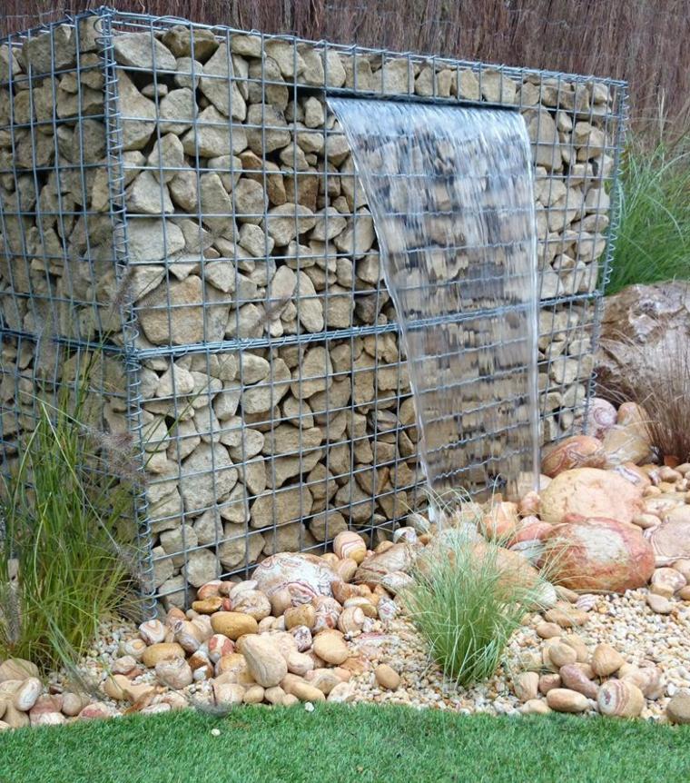 fontanelle-da-giardino-gabbione-metallico-stile