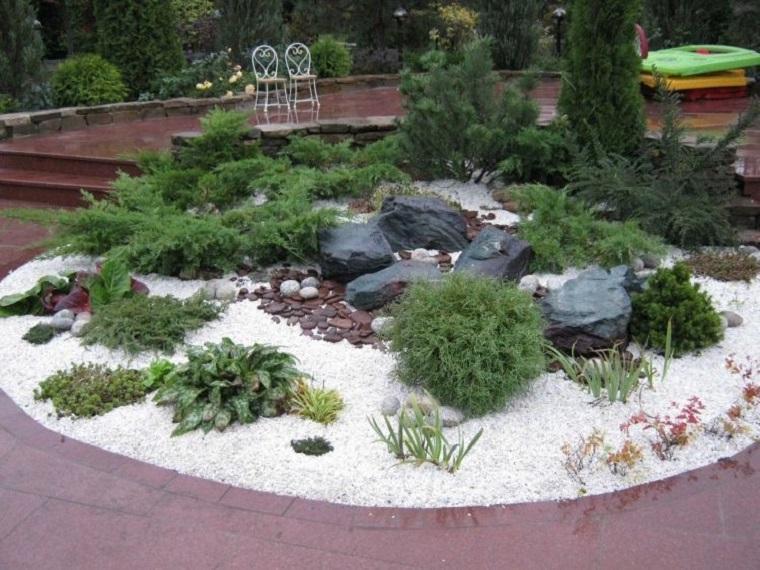 Giardini rocciosi ecco come creare un 39 area esterna - Piccoli giardini rocciosi ...