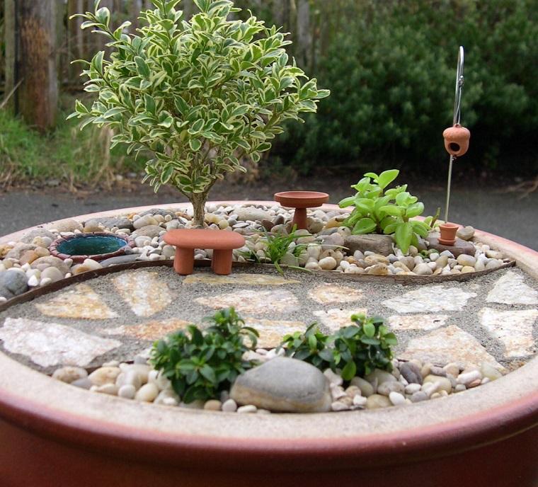 Giardini in miniatura ecco un modo particolare per - Giardino zen in miniatura ...