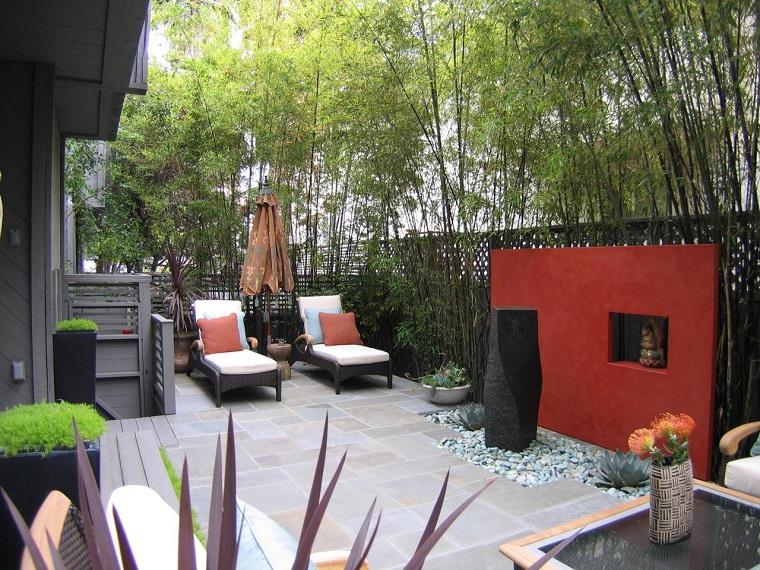giardino moderno-idea-ispirazione-zen