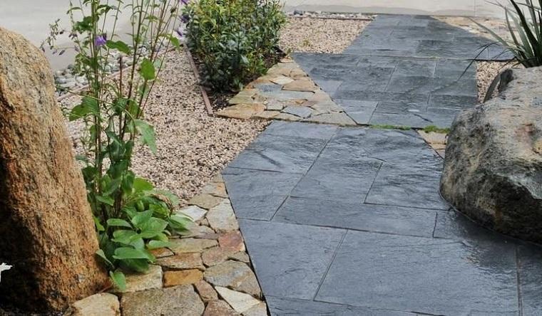 giardino roccioso-pavimentazione-design-piante