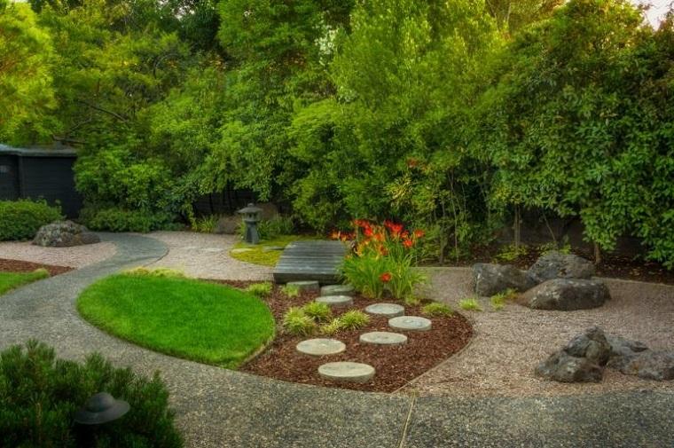 giardino roccioso-sabbia-area-verde