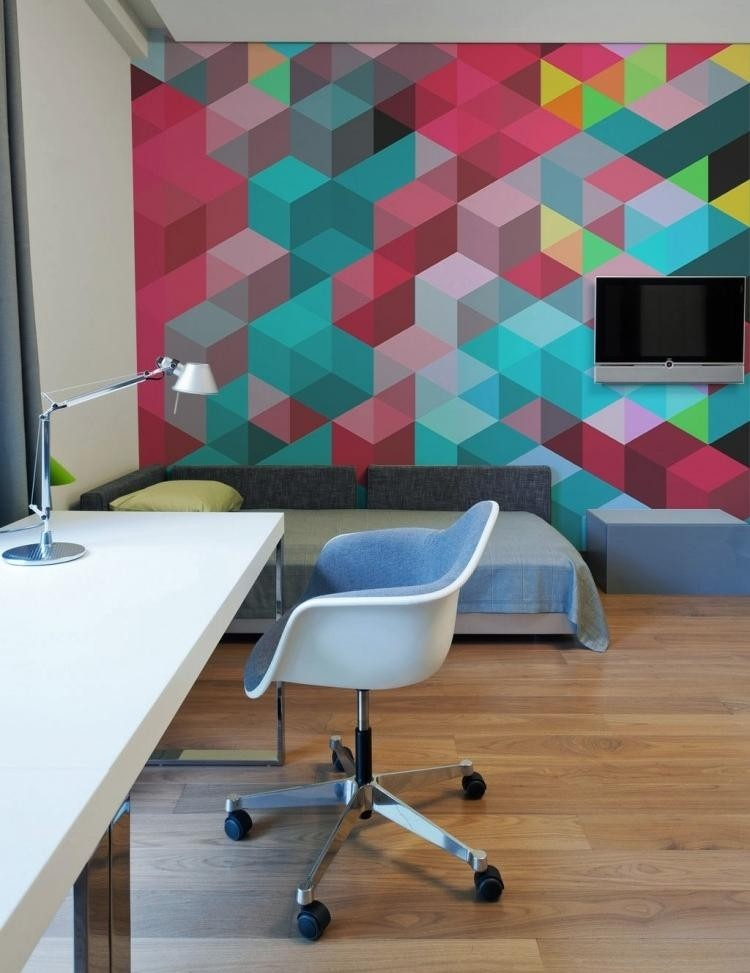 idea-parete-colorata-fresca-vivace-fai-da-te