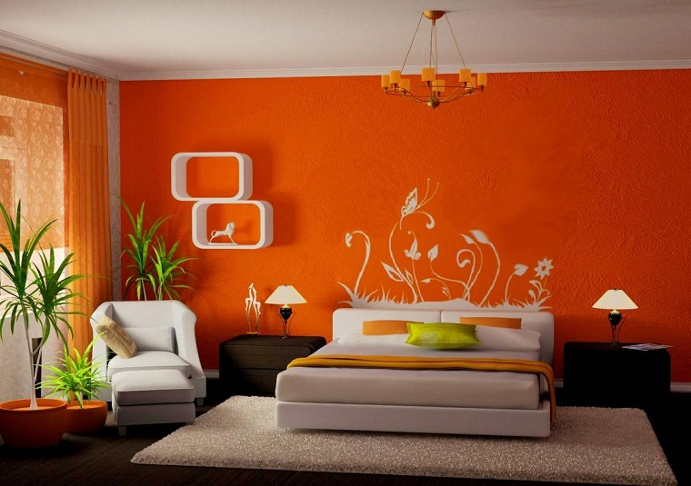 idee creative da realizzare-decorazione-parete-camera-letto