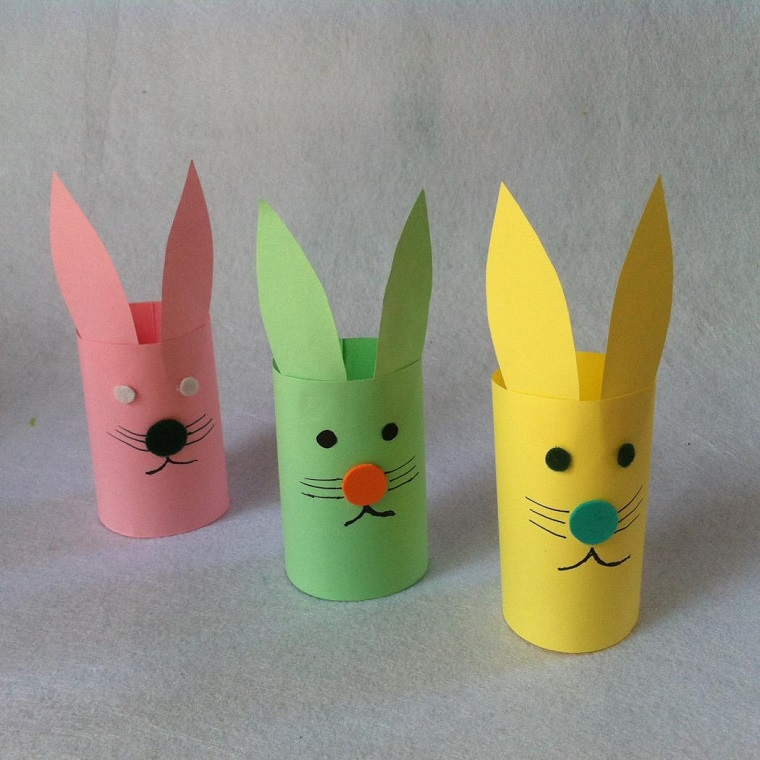 idee-creative-fai-da-te-coniglietti-carta-colorati