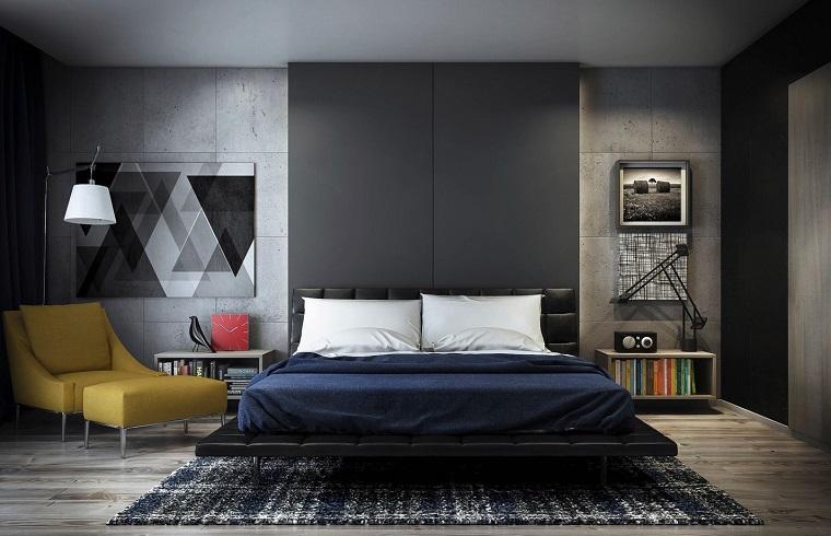 idee fai da te-camera-letto-design-moderno