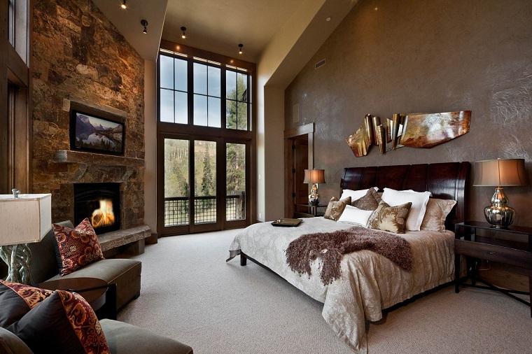 idee fai da te-camera-letto-stile-arredamento-rustico