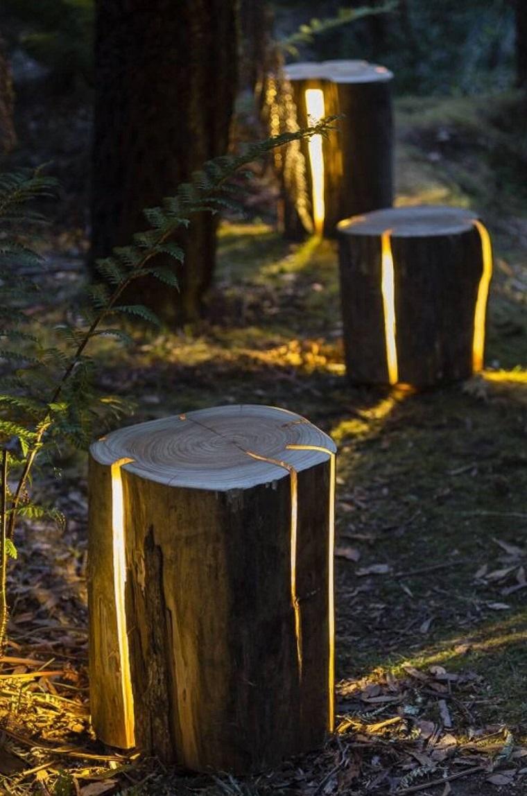 illuminazione-giardino-tronchi-albero-led