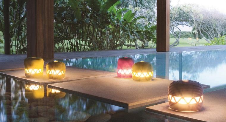 Lanterne da esterno come illuminare il giardino con originalità