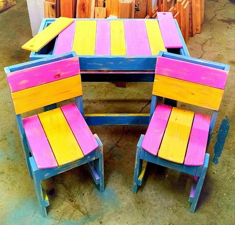 lavori-creativi-fai-da-te-sedie-tavolo-bimbi