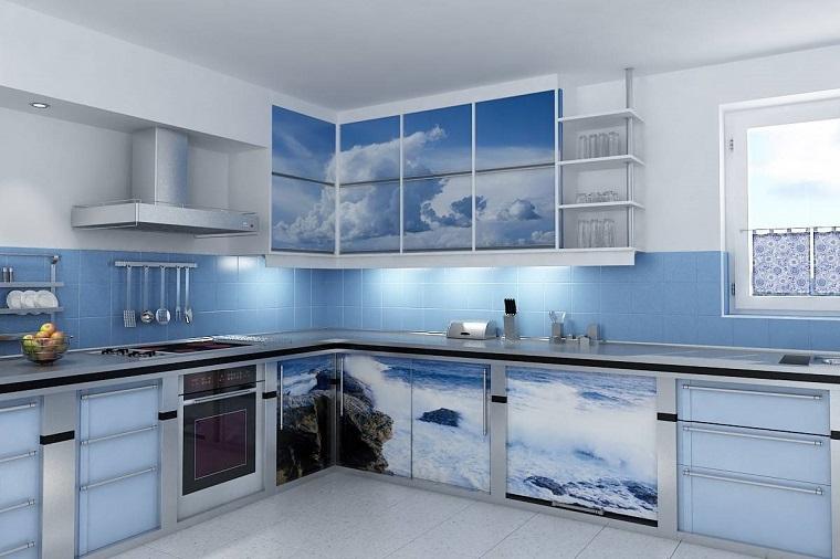 Colori Pareti Azzurro : Colore parete cucina: ecco come scegliere quello più adatto