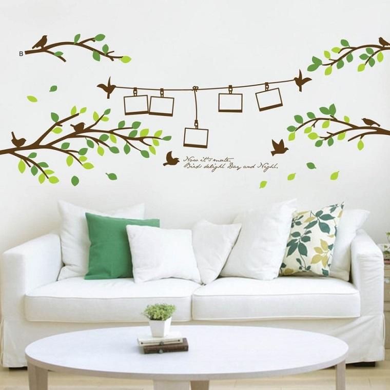 Decorare pareti facile divertente e rende gli ambienti for Disegni da applicare alle pareti