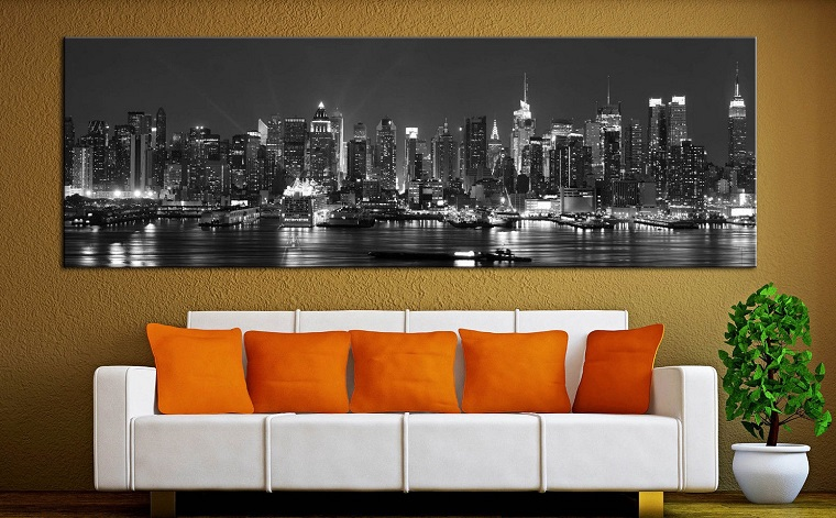 pareti-decorative-quadro-idea-soggiorno