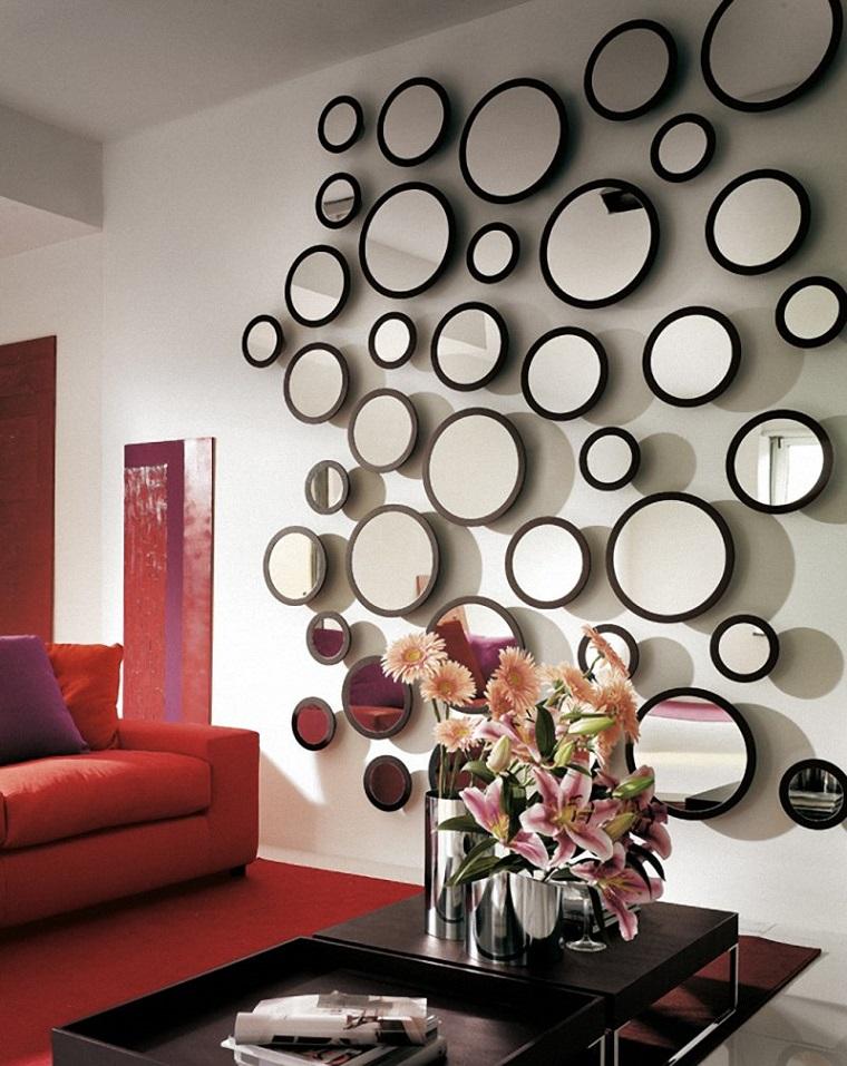 pareti-decorative-specchi-forma-rotonda
