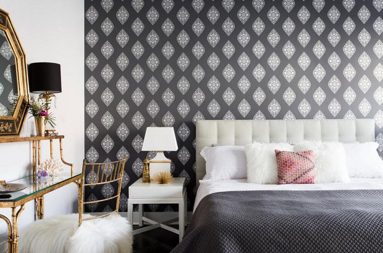 Pareti stanza da letto consigli sulle tonalit e le for Decorazioni stanza