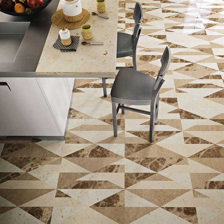 pavimenti in marmo-decorazioni-cucina