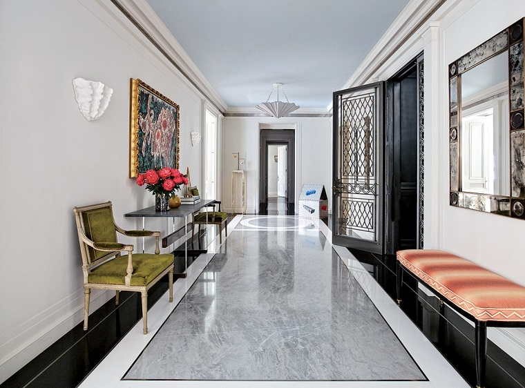 pavimento-in-marmo-corridoio-stile-classico