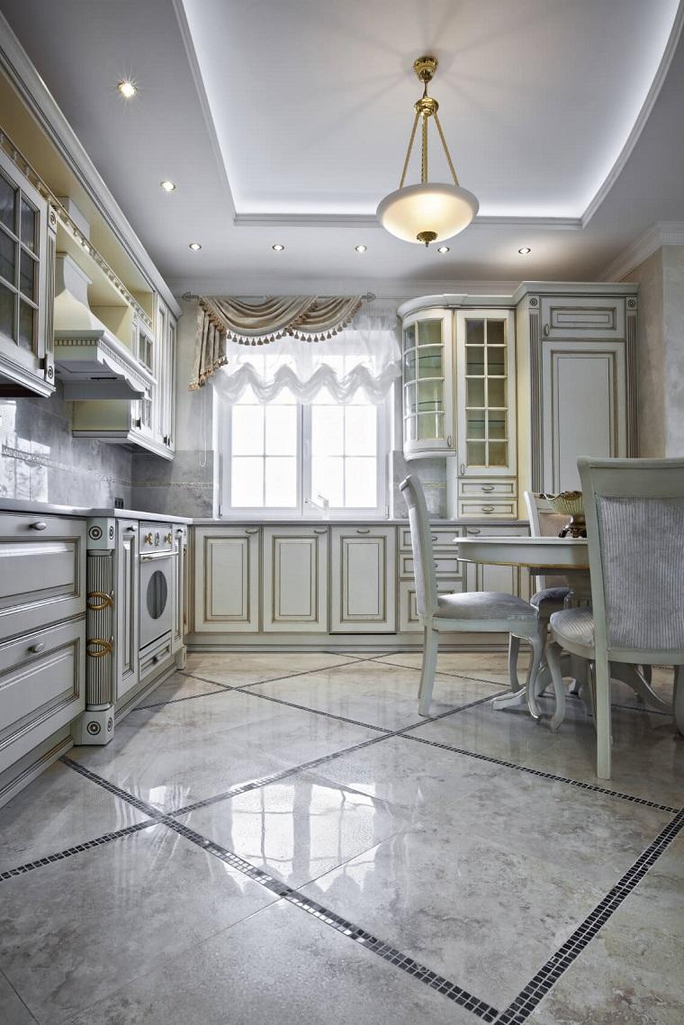 pavimento-in-marmo-cucina-arredo-stile-classico