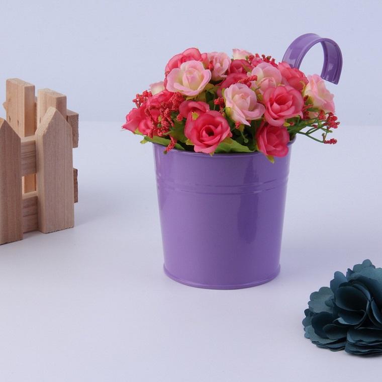 piante per balconi-idea-vaso-viola