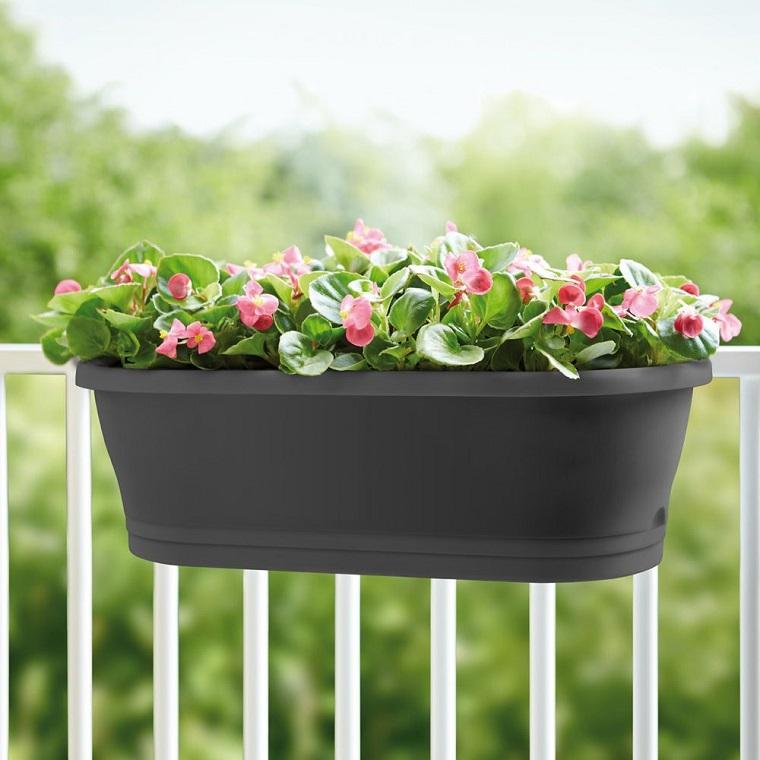 piante per balconi-vaso-plastica