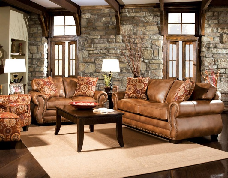soggiorno-arredato-decorato-secondo-stile-rustico