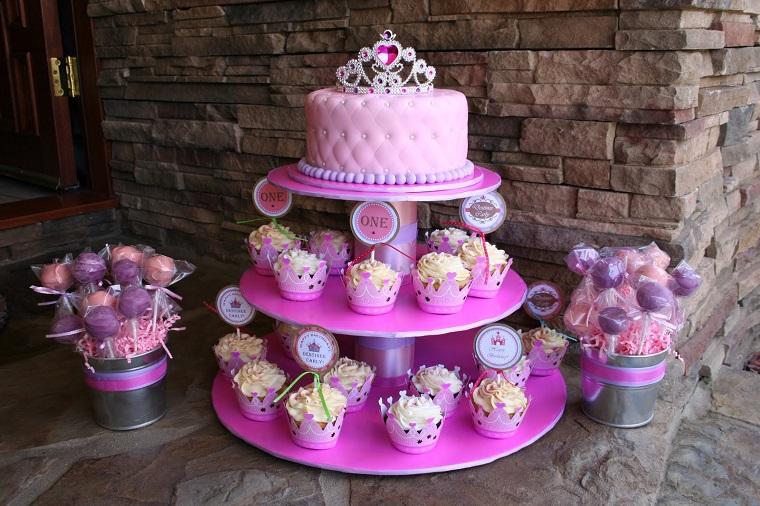 torta-principesse-addobbi-compleanno-originali