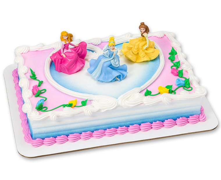 torta-principesse-idea-forma-rettangolare