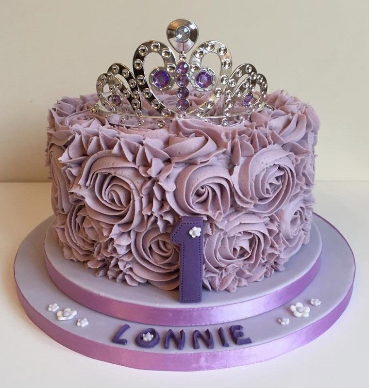 torte di principesse-colore-viola