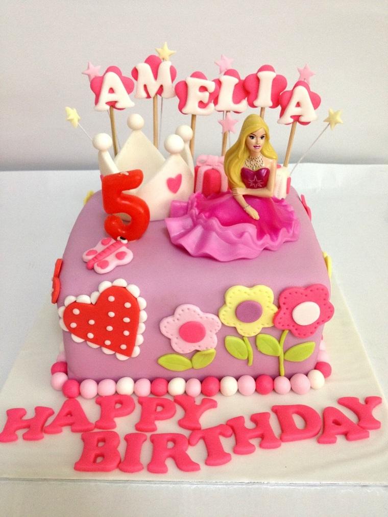 Torte di principesse 20 idee per un compleanno for Idee per torte di compleanno