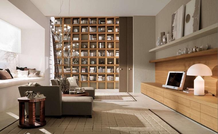 zona living-arredamento-stile-moderno-mobili-legno