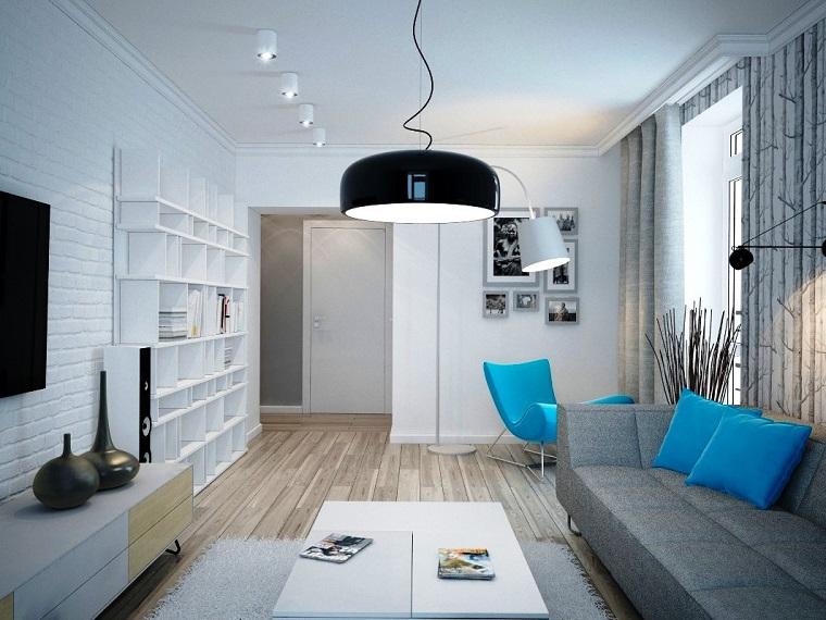 zona living-design-moderno-inserti-colore-blu