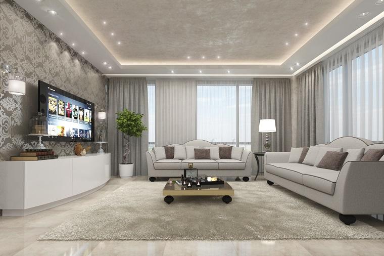Zona Living Arredamento.Arredamento Moderno Zona Giorno