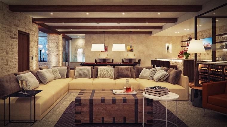 arredamenti rustici-zona-living-tavolino-originale
