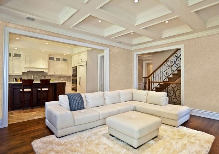 arredamento-classico-divano-angolare-bianco-open-space