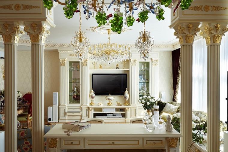Stile classico e soluzioni d 39 arredo per ogni ambiente for Zona living design