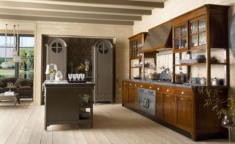 arredamento-cucina-isola-centrale-stile-eclettico