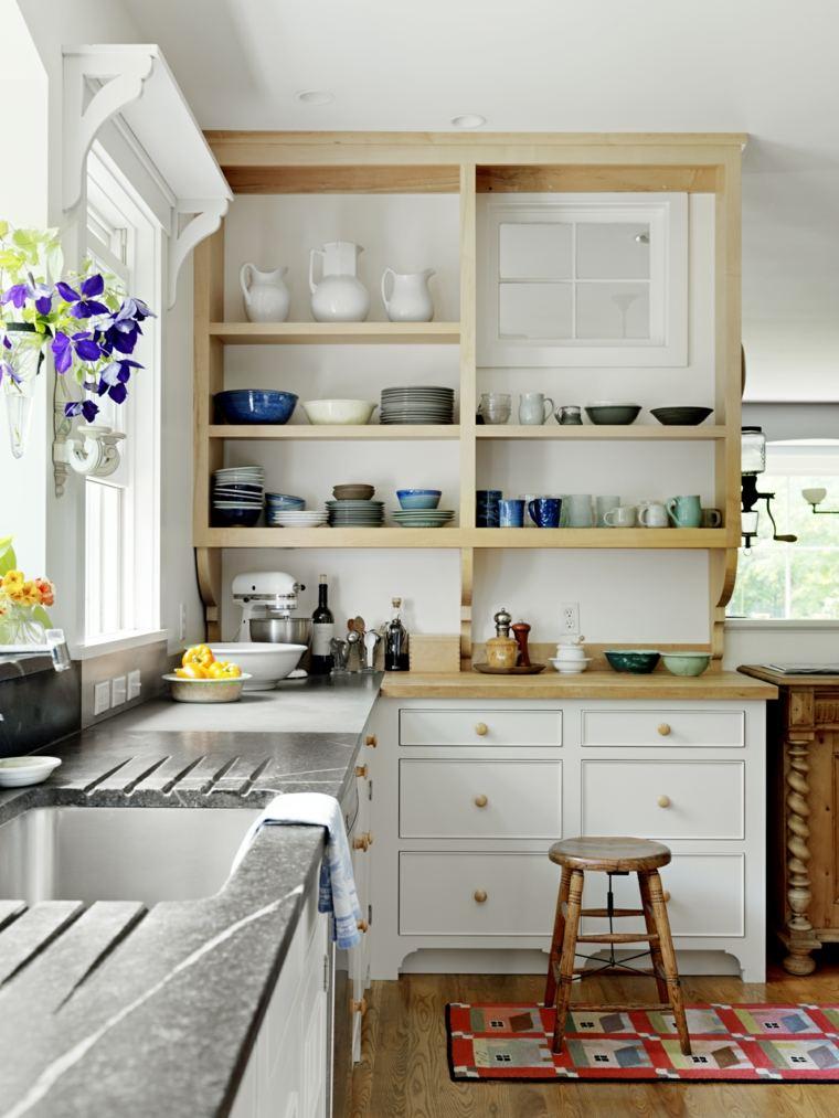 arredamento-cucina-stile-country-top-legno