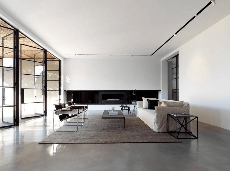 arredamento minimal-interior-design-moderno-soggiorno