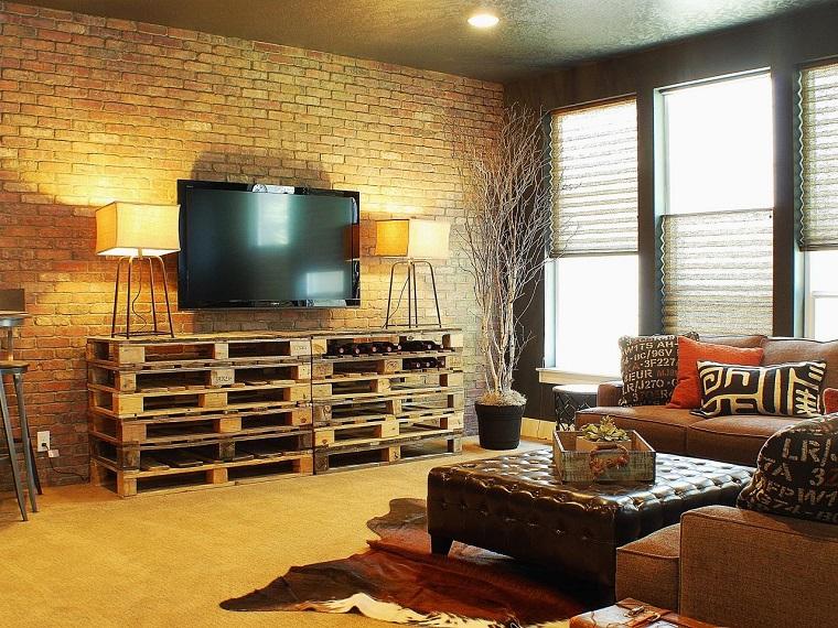 arredamento-salotto-proposta-stile-rustico
