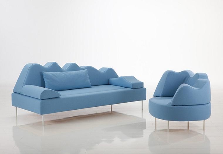 arredamento stile contemporaneo-divani-poltrona