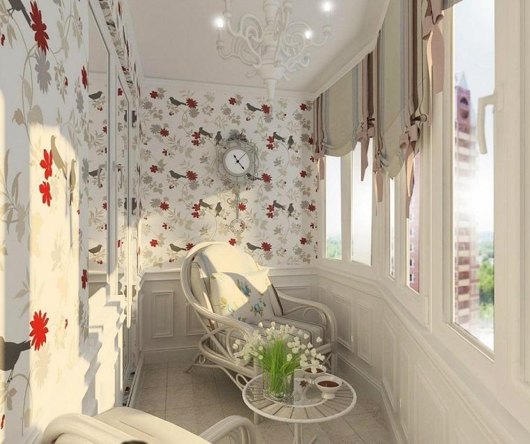 arredamento-terrazzo-chiuso-mobili-stile-classico