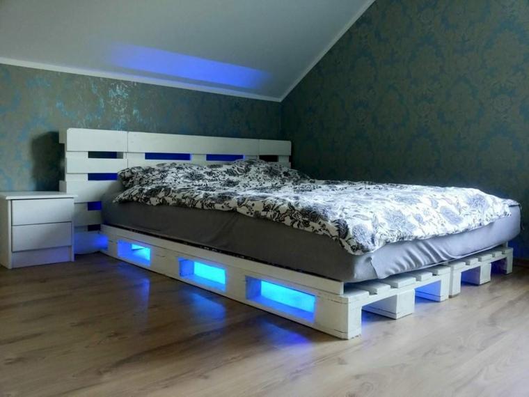 arredare con pallet-letto-zona-notte