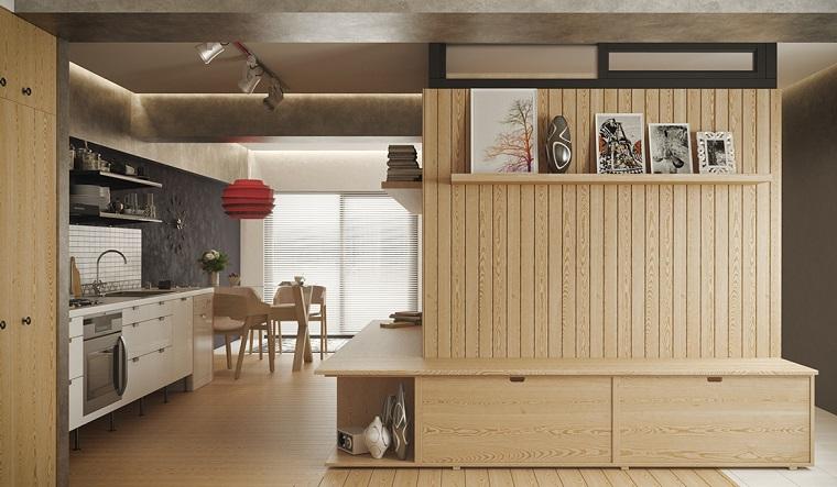 arredare-monolocale-maniera-orrimale-mobili-legno