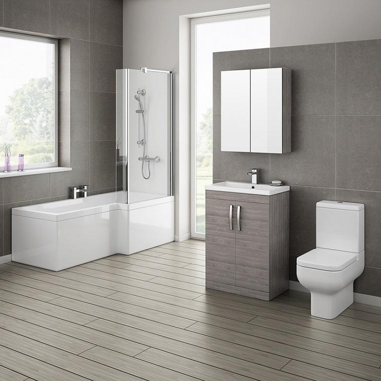 arredo-bagno-colore-grigio-interior-design-elegante