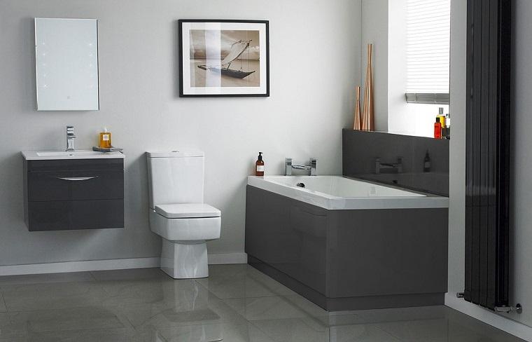 Bagno grigio scelta sempre pi diffusa che regala un 39 eleganza irresistibile - Arredo bagno grigio ...