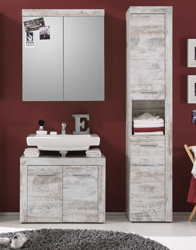 Bagno Con Vasca E Doccia Rivestito Stile Retro Interior Design : Bagno vintage ritorno al passato attraverso mobili dal