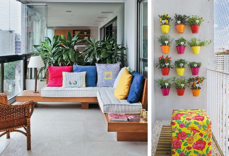arredo terrazzi-mobili-legno-giardino-verticale