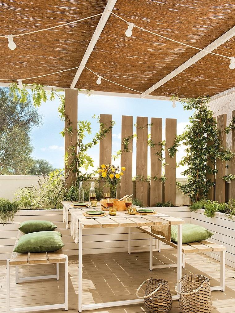 Arredo terrazzi 30 soluzioni anche per uno spazio dalle for Arredo giardino terrazzo