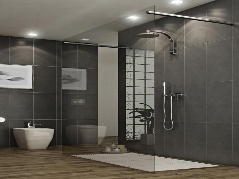 bagni moderni con doccia-idea-design