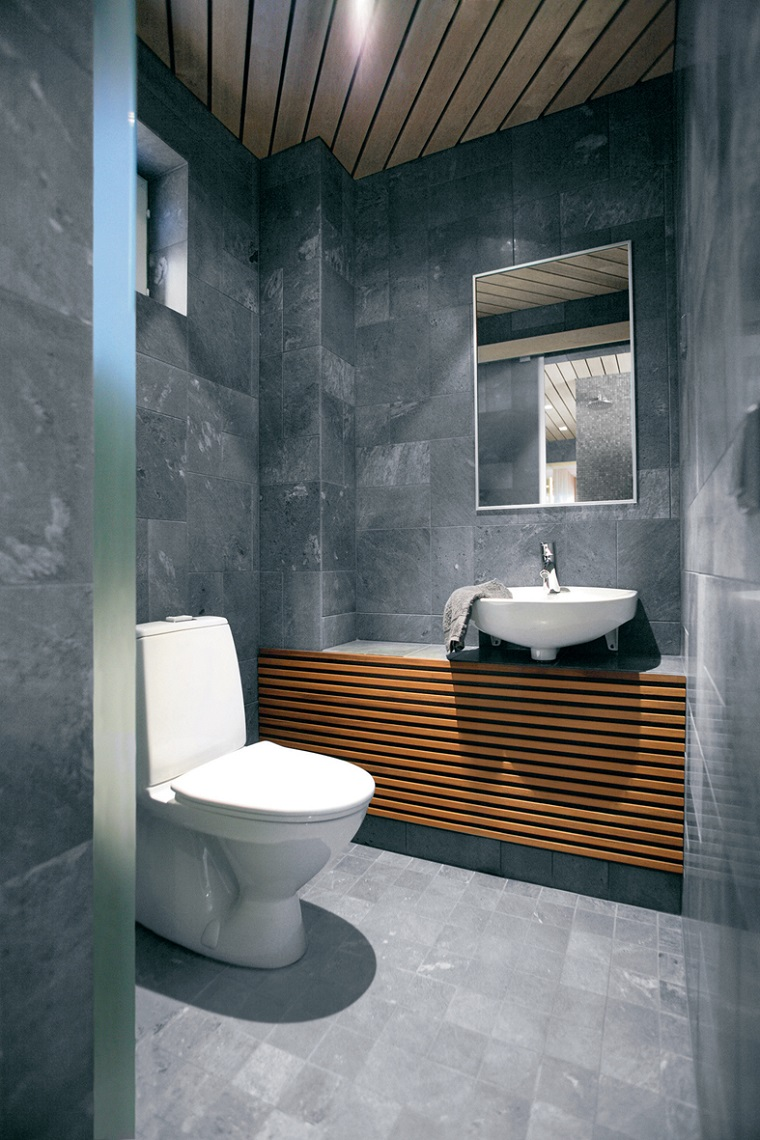 Bagno piccolo moderno 10 idee salvaspazio di design - Idee bagno moderno piccolo ...